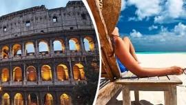 Letecký zájazd do Ríma s kúpanim