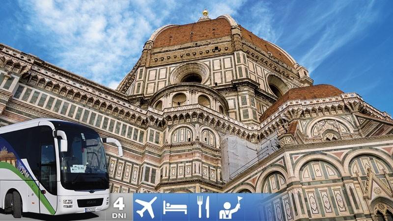 Zájazd do Florencie a Ríma