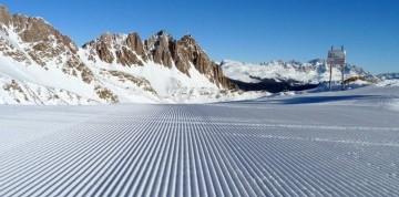 Lyžovačka v Talianskych Dolomitoch