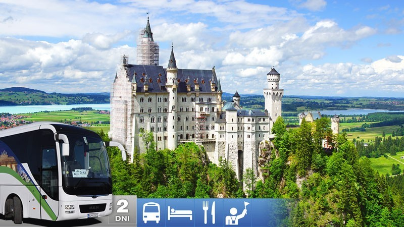 Nádherné Bavorské zámky