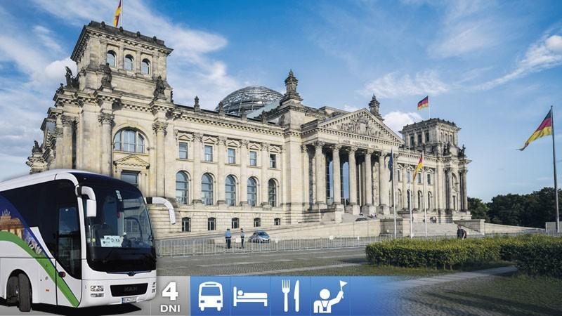 Nemecko: Berlín, Drážďany a Tropical Islands