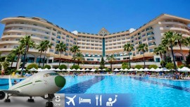 Okurcalar - Saphir Resort Spa Hotel 5***** aj s letenkou a all inclusive plus