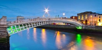 Letecký zájazd do Dublinu