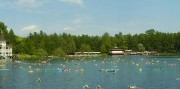 Termálne jazero Hévíz alebo kúpanie na Balatone