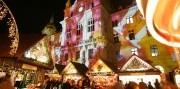 Adventný Graz s ľadovým Betlehemom