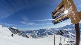 Lyžovačka vo Francúzskych Alpách