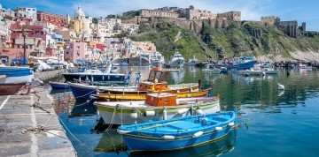 Krásy Kampánie a ostrovy