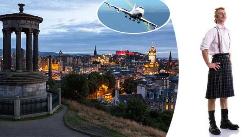 Letecký zájazd do Škótska