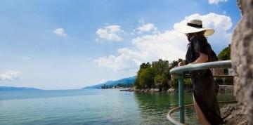 Leto pri mori v Chorvátskej Opatiji