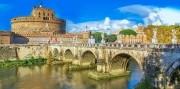 Rím a Tivoli letecky