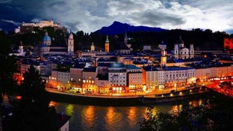 Prechádzka po Soľnohradsku - Salzburg a Wolfgangsee