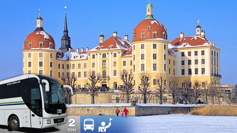 Drážďany a Moritzburg - Vianočné trhy a Popoluškin zámok