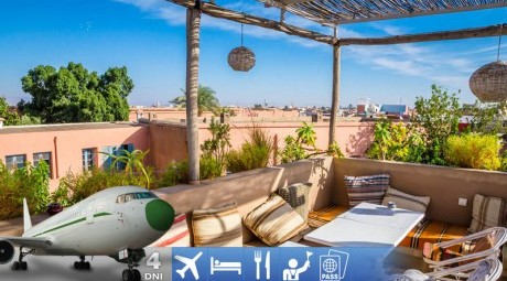 Letecký zájazd do Marrakesha
