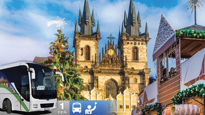 Adventný zájazd do Prahy